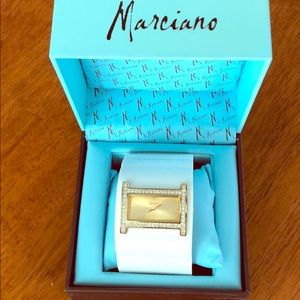 Marciano watch white, gold and diamonds(CZ)